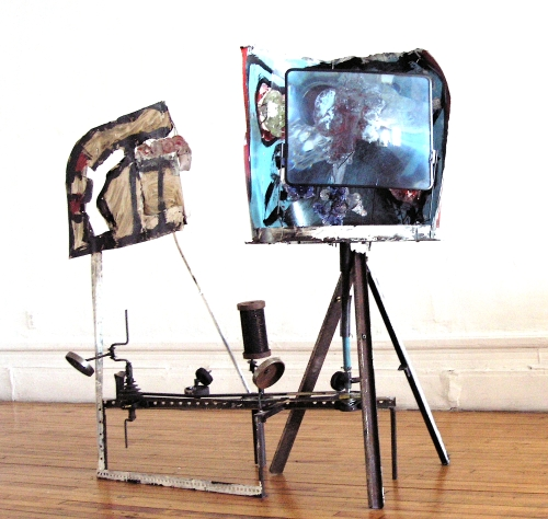 Valentin Manz, TV Machine, 2006.